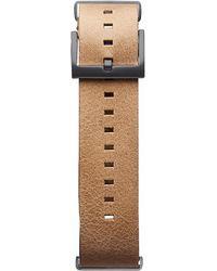 MVMT Voyager - 21mm Caramel Leather - Multicolour
