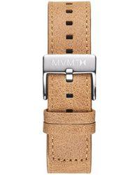 MVMT - Chrono - 20mm Caramel Leather - Lyst