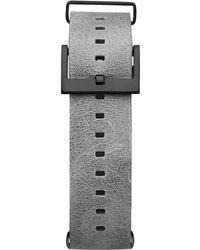MVMT - Voyager - 21mm Light Grey Leather - Lyst