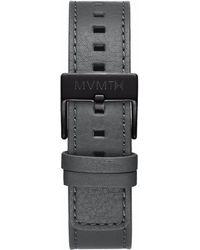 MVMT - Chrono - 20mm Sage Leather - Lyst