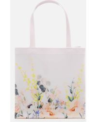 Ted Baker - Albacon Elegant Large Icon Tote - Lyst