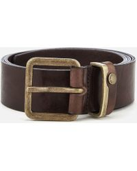 Ted Baker - Katchup Leather Belt - Lyst