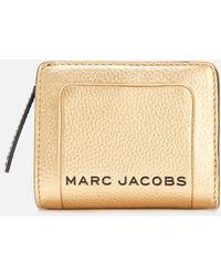 Marc Jacobs Mini Compact Wallet - Metallic