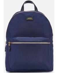 Lauren by Ralph Lauren Chadwick Medium Backpack - Blue