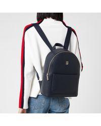 Tommy Hilfiger Binding Backpack - Blue