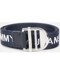 Tommy Hilfiger Tjw Webbing Essential Belt - Blue