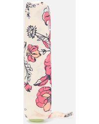 Radley Sketchy Floral Umbrella - White