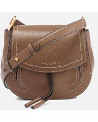 Marc Jacobs - Women s Maverick Leather Mini Shoulder Cross Body Bag - Lyst 97c68867ca507