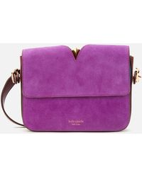 Kate Spade Mystery Suede Small Shoulder Bag - Pink
