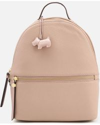 Radley Fountain Road Medium Ziptop Backpack - Natural
