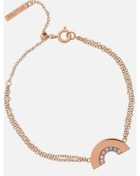 Olivia Burton Rainbow Bracelet - Metallic