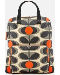 Orla Kiely - Canvas Flower Stem Print Backpack Tote Bag - Lyst