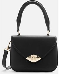 Furla Eye S Top Handle Nero - Black