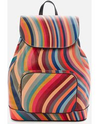 Paul Smith Swirl Backpack - Multicolour