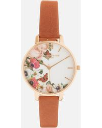 Olivia Burton - English Garden Big Dial Watch - Lyst