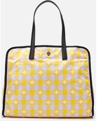 Kate Spade Nicola Bicolor Extra Large Tote Bag - Yellow