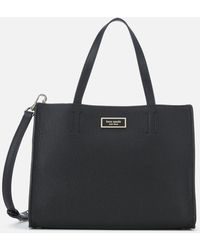 Kate Spade Sam Medium Satchel - Black
