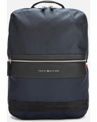 Tommy Hilfiger Nylon Mix Backpack - Blue