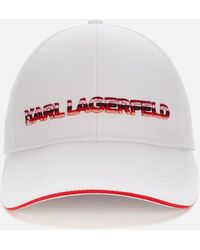 Karl Lagerfeld Karl Essential Logo Grad Cap - Multicolour