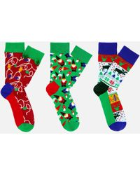 Happy Socks - Holiday Gift Box - Lyst