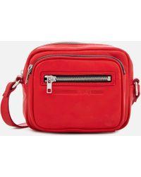 McQ Cross Body Bag - Red