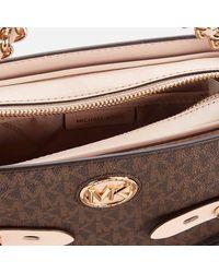 MICHAEL Michael Kors Carmen Large Camera Cross Body Bag - Brown