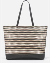 Armani Exchange - Small Woven Tote Bag - Lyst
