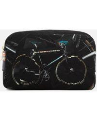 Paul Smith Bicycle Print Wash Bag - Black