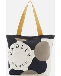 Radley - Graphic Large Canvas Tote Bag - Lyst