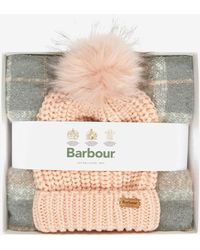 Barbour Saltburn Beanie/boucle Scarf Gift Set - Multicolour