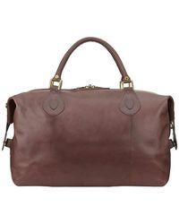 Barbour Medium Travel Explorer Bag - Brown