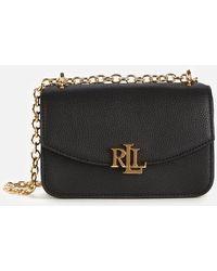 Lauren by Ralph Lauren Elmswood Madison Cross Body Bag - Black