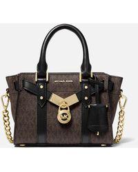 MICHAEL Michael Kors Nouveau Hamilton Xs Cross Body Bag - Black