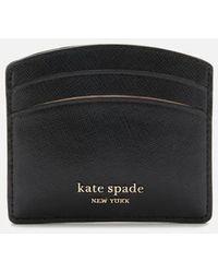 Kate Spade Spencer Card Holder - Black