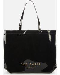 Ted Baker Hanacon Bow Large Icon Bag - Black