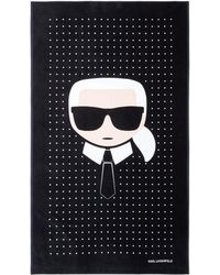 Karl Lagerfeld K/ikonik Towel - Multicolor