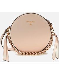 MICHAEL Michael Kors Delancey Mad Circle Cross Body Bag - Pink