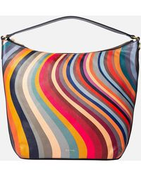 Paul Smith Medium Hobo Bag - Multicolour