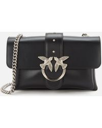Pinko Love Mini Soft Simply Cross Body Bag - Black
