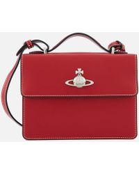 4ba041cfd4a2 Vivienne Westwood - Matilda Medium Leather Shoulder Bag - Lyst