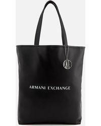 Armani Exchange - Reversible Shopping Bag - Lyst