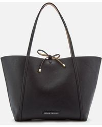 Armani Exchange - Leather Reversible Tote Bag - Lyst