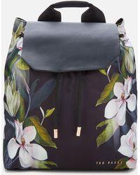 Ted Baker Opal Drawstring Backpack - Black