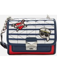 Karl Lagerfeld   Captain Karl Strap Mini Handbag   Lyst