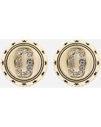 Marc Jacobs - Medallion Studs - Lyst