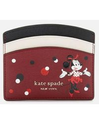 Kate Spade Minnie Mouse Card Holder - Red