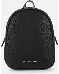 Armani Exchange Mini Backpack - Black