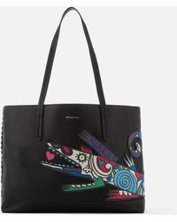 Paul Smith - Croc Mini Shopper Bag - Lyst