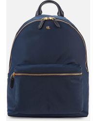 Lauren by Ralph Lauren Clarkson 27 Medium Backpack - Blue