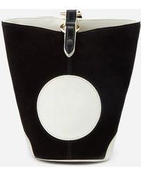 Diane von Furstenberg Mini Steamer Bag - Black